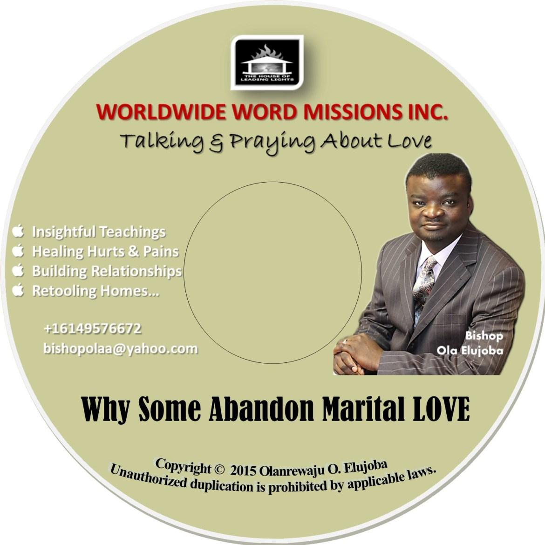 ltal cd label 2015 -Why Some Abandon Marital LOVE