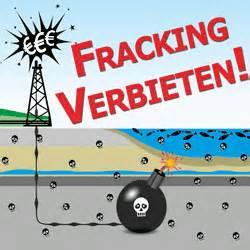 Fracking verbieten