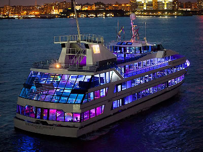 The Hornblower Infinity Is A 210ft Private NYC Yacht Charter