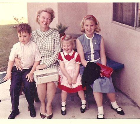 Mom and Kids 1965