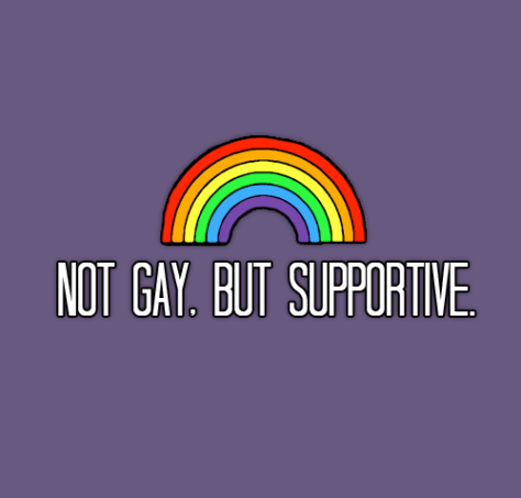 Not Gay But Supportive