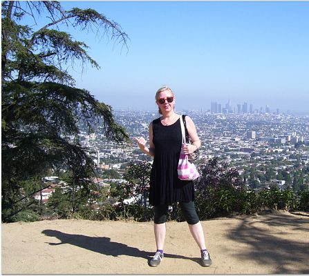 hiking to griffith park observatory