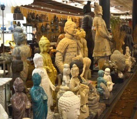 Pearl River Mart Buddhas