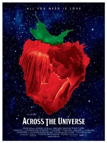 accross the universe movie poster