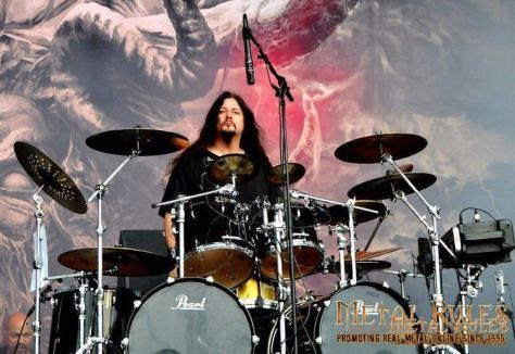 Gene Hoglan Drumkit