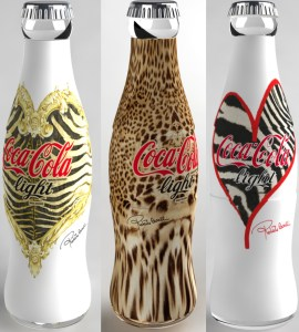Animal Print Coke Bottles