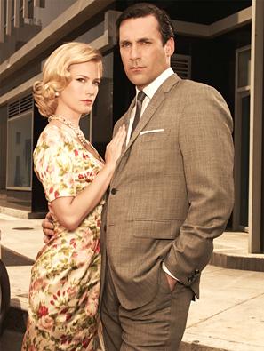 Betty and Don Draper