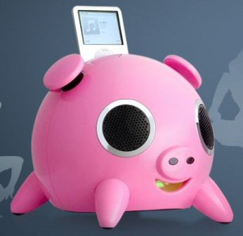 Pink iPig Speakal