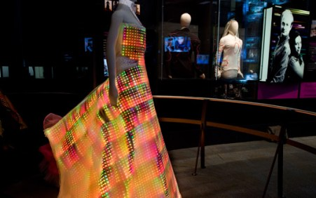 LED Dress Side View