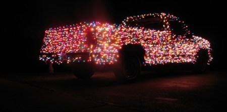 Christmas Light Truck 2