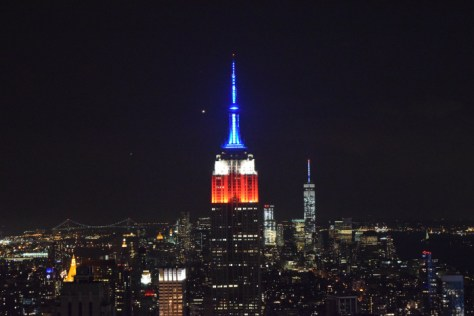 Empire State from Top of the Rock