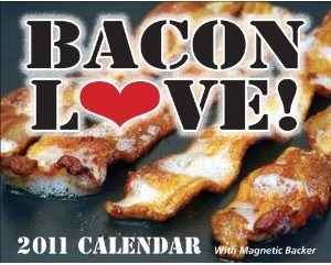 bacon love calendar 2011