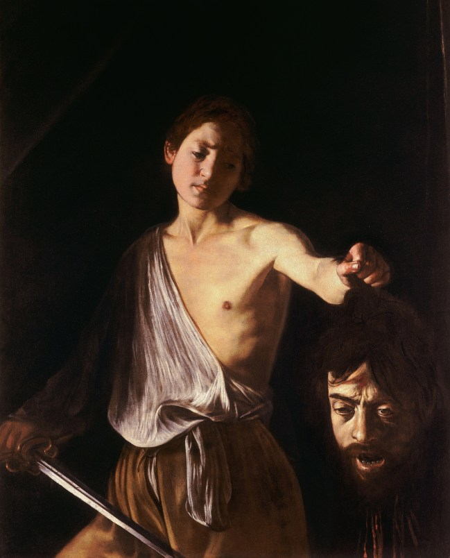 David Holding the Head Of Goliath