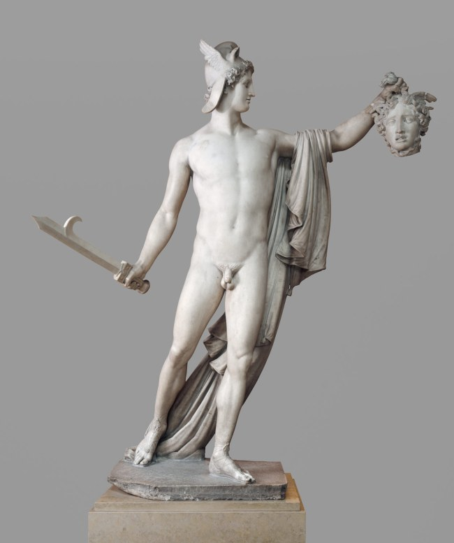 Perseus Holding the Head Of Medusa