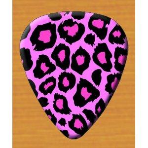 Pink Guitar Pick