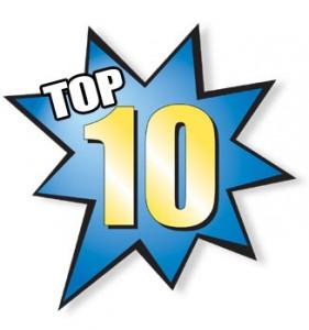 Header for Top Ten List in Starburst