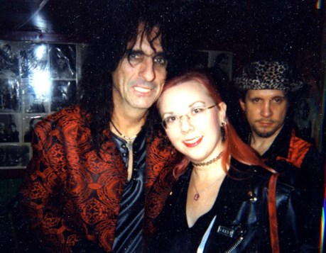 Alice Cooper with Gail Worley