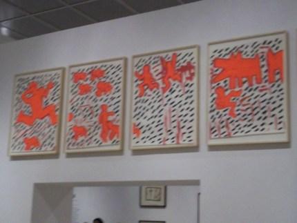 Keith Haring Orange Array
