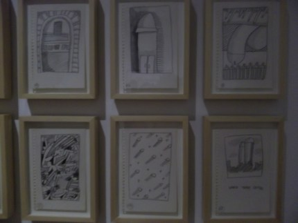 Keith Haring Penis Sketches