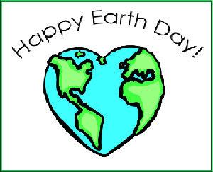 Happy Earth Day Heart