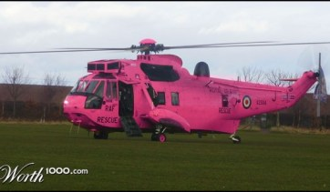 Hot Pink Helacopter