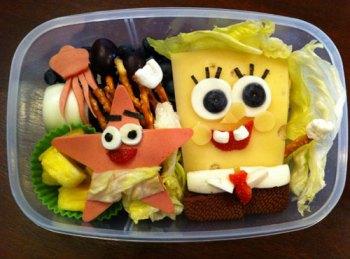 Sponge Bob Bento Box