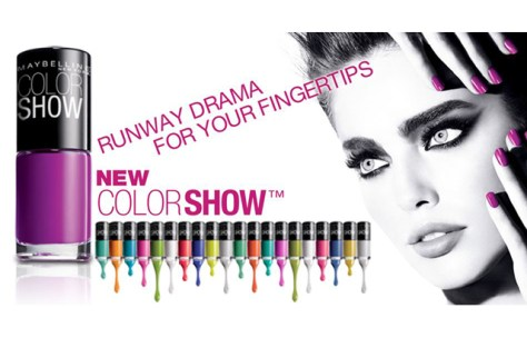 Maybelline Color Show Nail Polish Ad