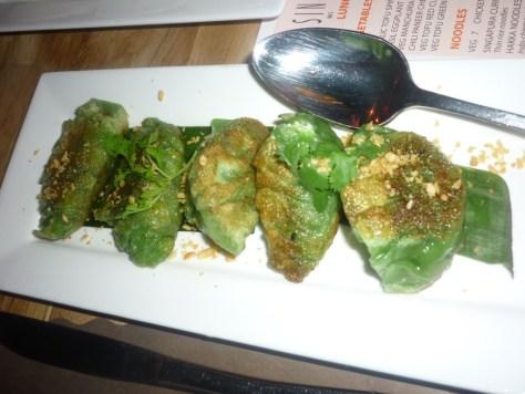 Pan Fried Vegetarian Dumplings
