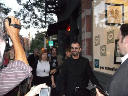 Ringo Arrival at Pop International Galleries
