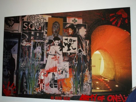 Dorian Grey Large Collage Army of One et al