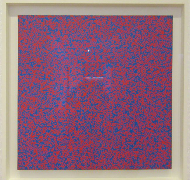 Random Distribution of 40000 Squares