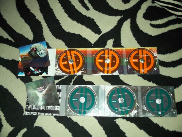 ELP and Tarkus Discs