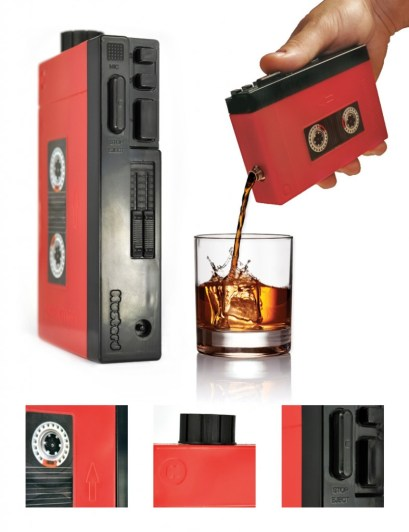 Drinkman Walkman Hip Flask