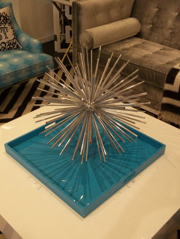 Jonathan Adler Blue Living Room Table Piece