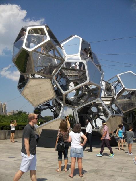 Tomas Saraceno Sculpture Cloud City
