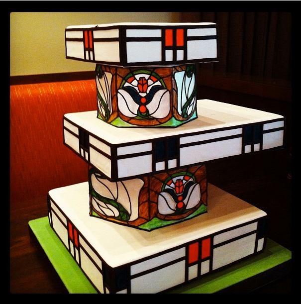 Frank Lloyd Wright Cake By Creative Cakes