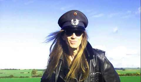 Julian Cope Leather Jacket and Hat