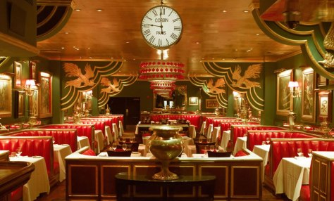 Russian Tea Room Interior