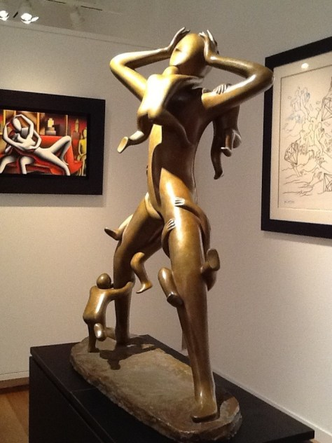 Mark Kostabi Statue