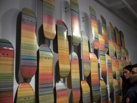Haroshi Skateboard Wall
