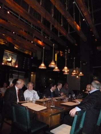 Diners at Zengo