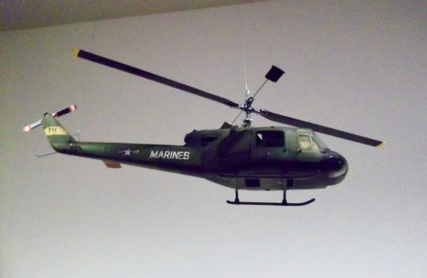 Full Metal Jacket Helicopter By Gail Worley