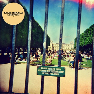 Tame Impala Lonerism CD Cover