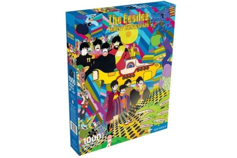 The Beatles Yellow Submarine Jigsaw Puzzle