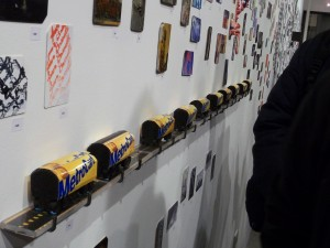 Metrocard Art Subway Train