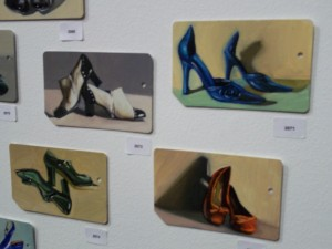 Metrocard Art Various Shoes