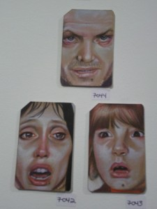 Metrocard Art The Shining