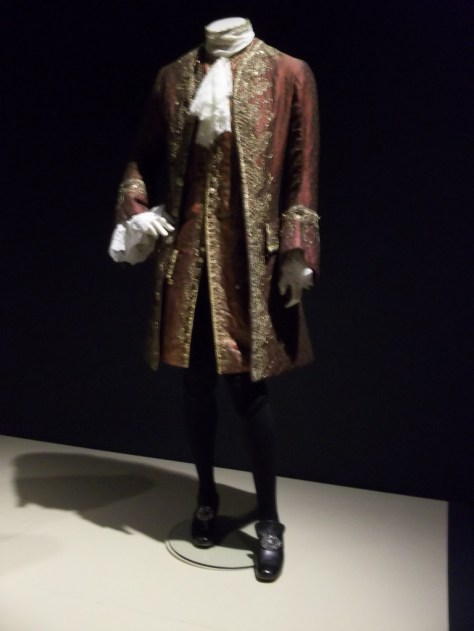 Bowers Costumes Brown Gilt Jacket