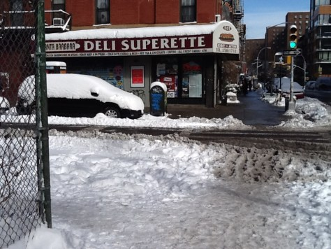 Intersection with Deli
