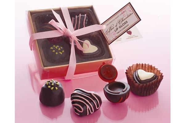Valentines Day Box of Chocolates Lip Gloss